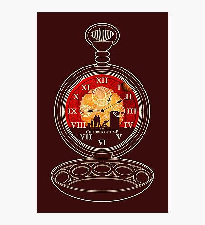 The Children of Time - Fob Watch Photographic Print