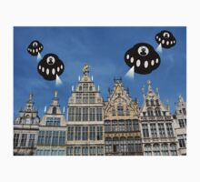 Aliens invade Antwerp One Piece - Short Sleeve