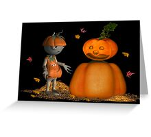 Take me to your leader .. November Greeting Card