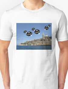 Aliens invade Valletta T-Shirt