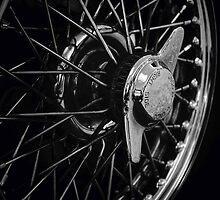 Classic Car Wheel by Matt Keil