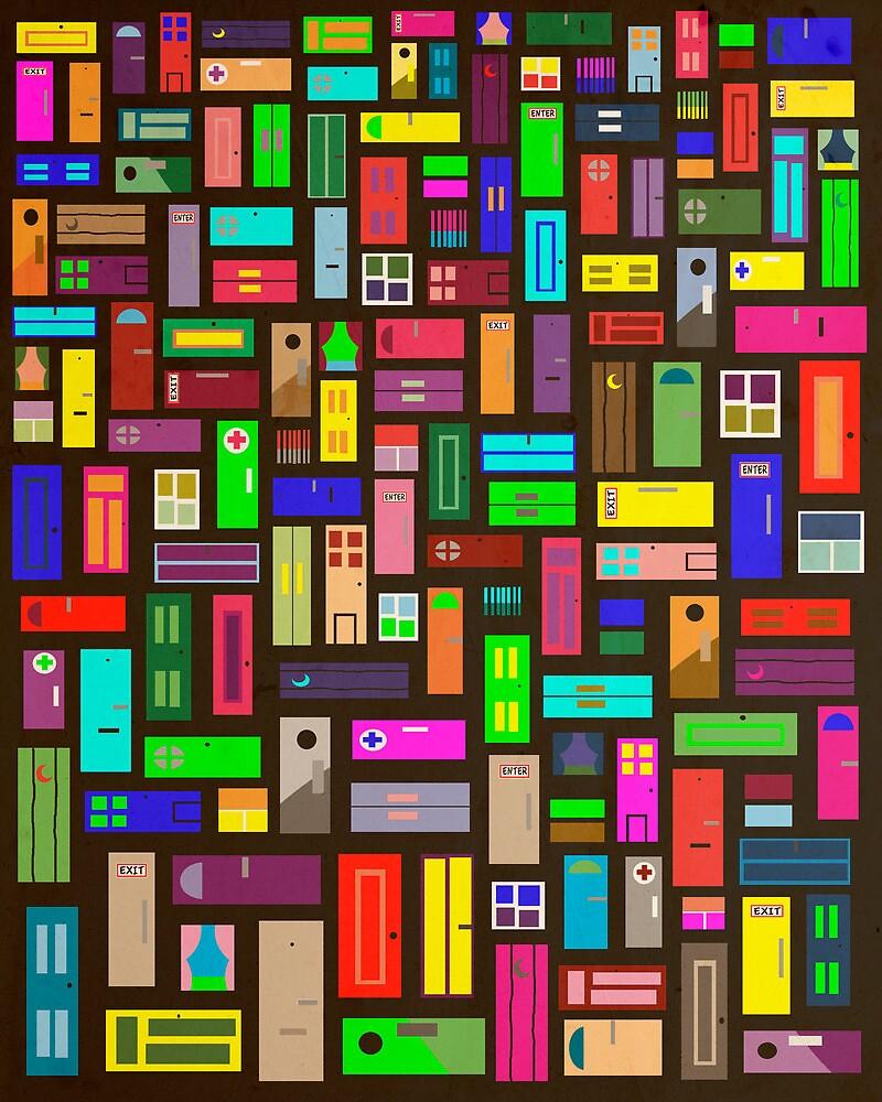 Doors - Black by FinlayMcNevin