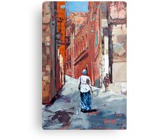 The Old Town, Sardinia, Italy Metal Print