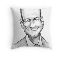 Caricature - Alan Shearer Throw Pillow