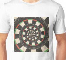 Spiral Dart Board Droste Effect  Unisex T-Shirt