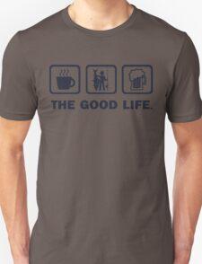 Funny Shark Fishing T Shirt T-Shirt