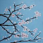 Almond blossoms by Rossella Buscemi