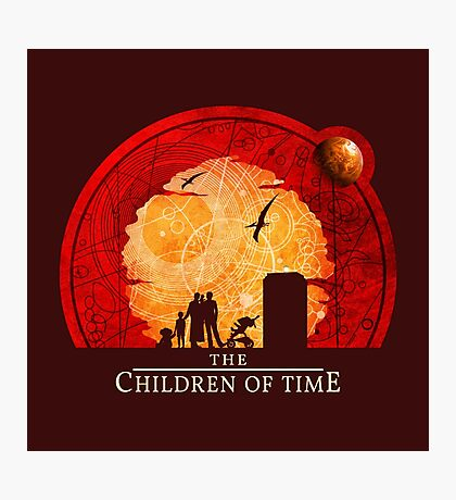 The Children of Time - Circular Photographic Print