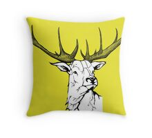 Wildlife Portrait Throw Pillow