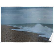 Dungeness Beach. Poster