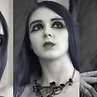 Three Portraits - Infrared by Debbie Pinard