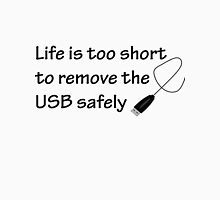 Too Short USB Women's Fitted V-Neck T-Shirt