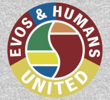 Evos and Humans United by Jonlynch