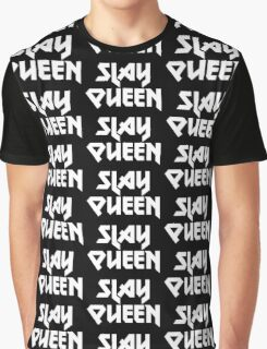 Metal Slay Queen Graphic T-Shirt