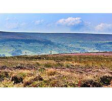 Yorkshire Moors Photographic Print