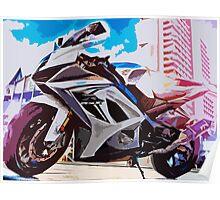 SUZUKI GSX-R 1000 Poster