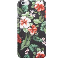Floral Print iPhone Case/Skin