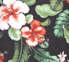 Floral Print Sticker