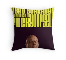 MY NAME IS ASAC SCHRADER Throw Pillow
