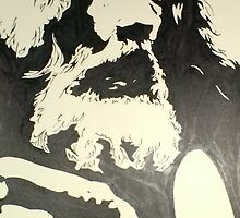 Alan Moore by Ant-Acid