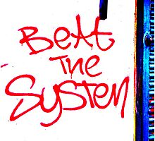 Beat The System Unique Urban  Photographic Print