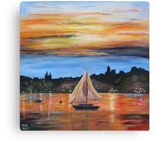 Peaceful Paradise Canvas Print