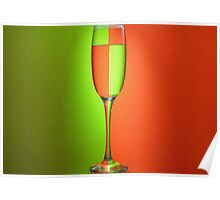 Refracted Light Poster
