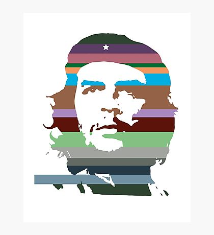 Che Guevara digital illustration Photographic Print