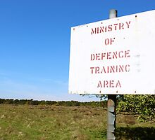 Ministry of Defence Training Area by Matt Keil