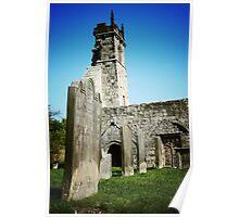 Wharram Percy Church Ruins Poster
