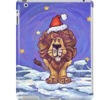 Lion Christmas iPad Case/Skin
