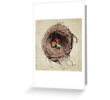 Yoshi Eggs Greeting Card