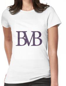 Black veil brides initials web-effect Womens Fitted T-Shirt