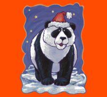 Panda Bear Christmas Kids Clothes