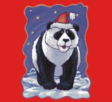 Panda Bear Christmas Kids Clothes