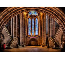 Cathedral Glass Photographic Print
