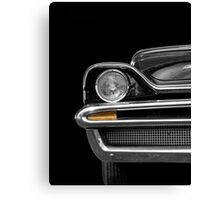 Luxury (black&white) Canvas Print