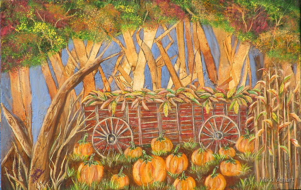 Fall Harvest by Mikki Alhart