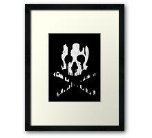 Skullmelt Framed Print
