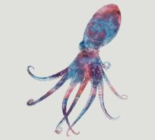 Cosmic Octopus Tee! by hooluwan