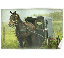 Amish of Lancaster County Poster