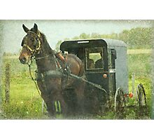 Amish of Lancaster County Photographic Print