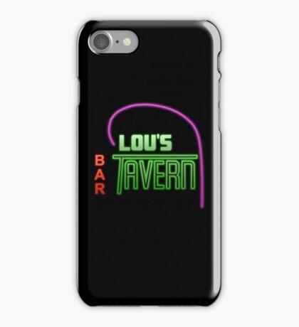 Lou's Tavern  iPhone Case/Skin