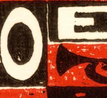 Noel Red Sticker