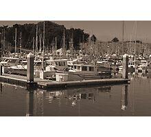 Bodega Marina Photographic Print