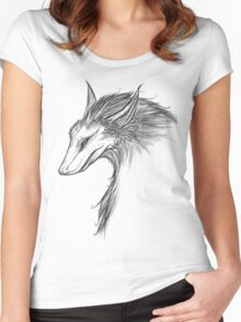 The Dragon Fox Women's Fitted Scoop T-Shirt