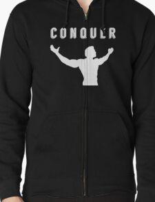 arnold schwarzenegger gym t-shirt conquer T-Shirt