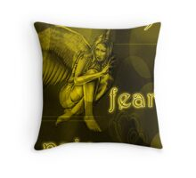 Fear of Pain Throw Pillow