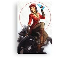 The Wright Pinup! Canvas Print