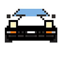 Pixel AE86 Photographic Print